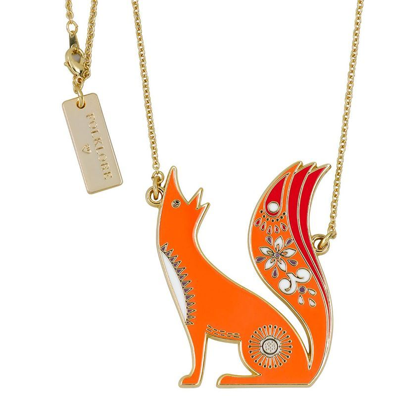 Folklore – Necklace Fox