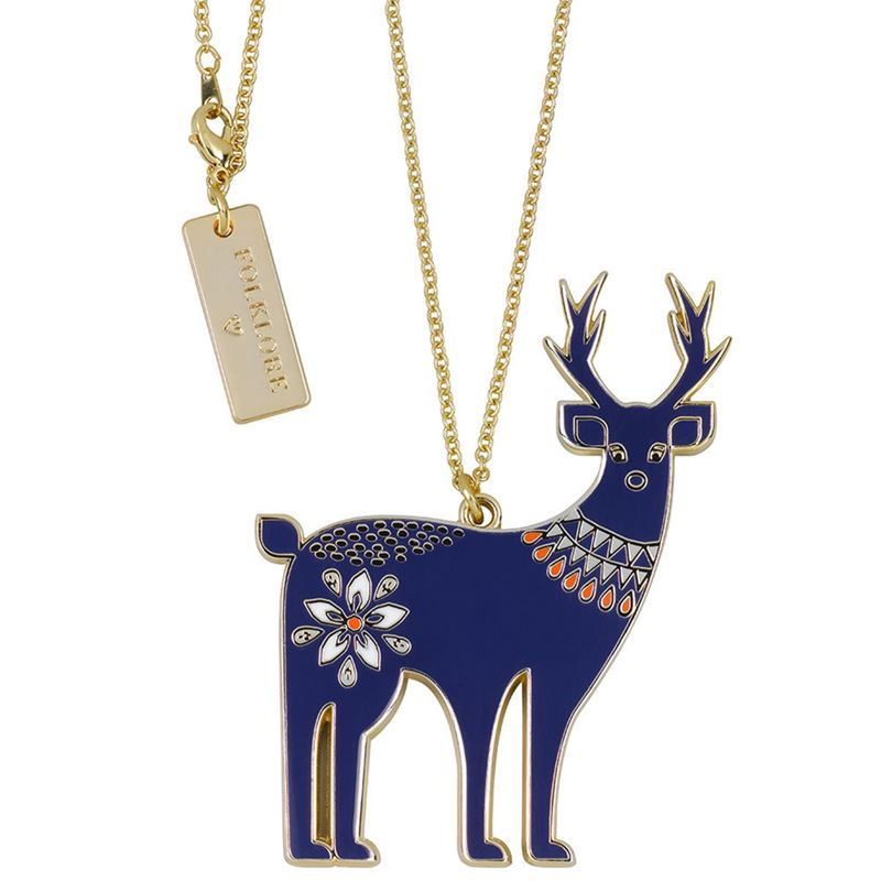 Folklore – Necklace Deer