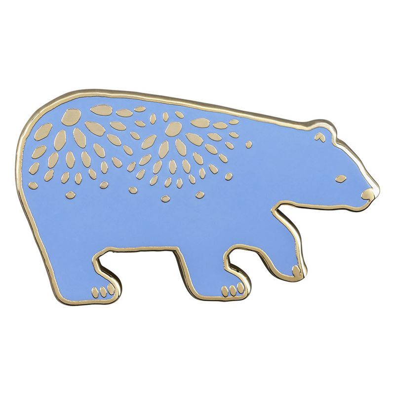 Folklore – Enamel Brooch Bear