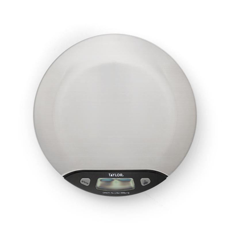 Taylor – Digital Stainless Steel Multipurpose Scale 3kg