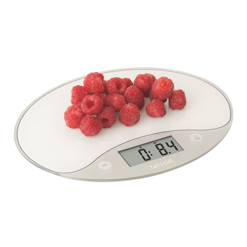 Taylor – Digital Ultra-Slim Glass Scale 5Kg