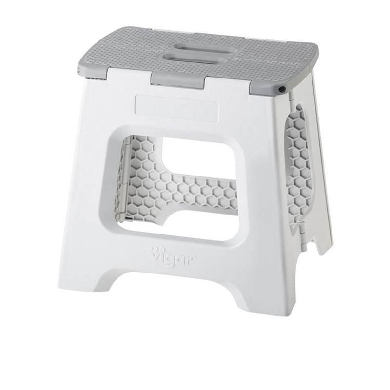 Vigar – Foldable Stool 32cm Grey