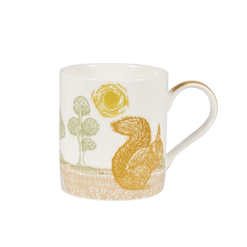 Queens by Churchill – Woodcut Birch Mug Squirrel  350ml