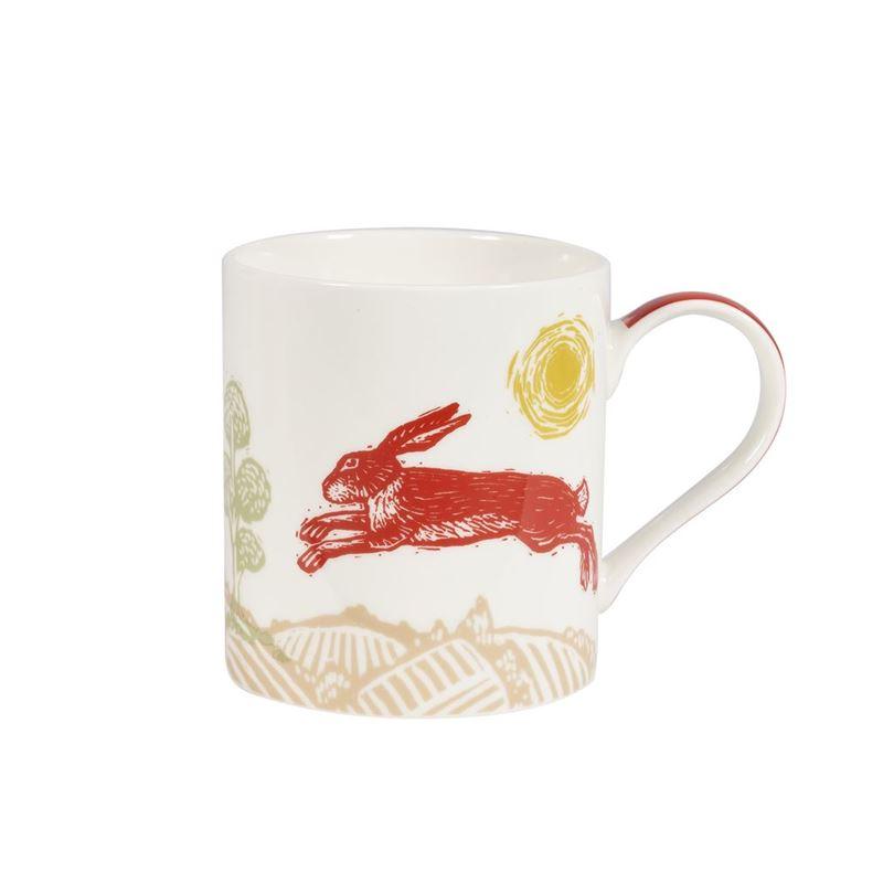 Queens by Churchill – Woodcut Birch Mug Hare 350ml
