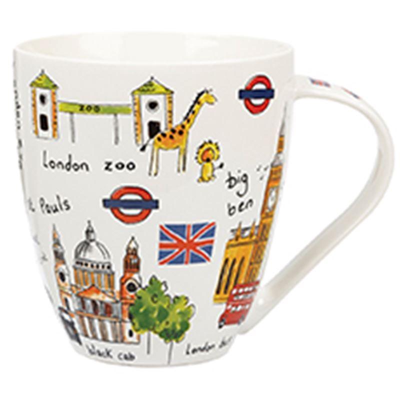 James Sadler – Sights of London Crush Mug 500ml