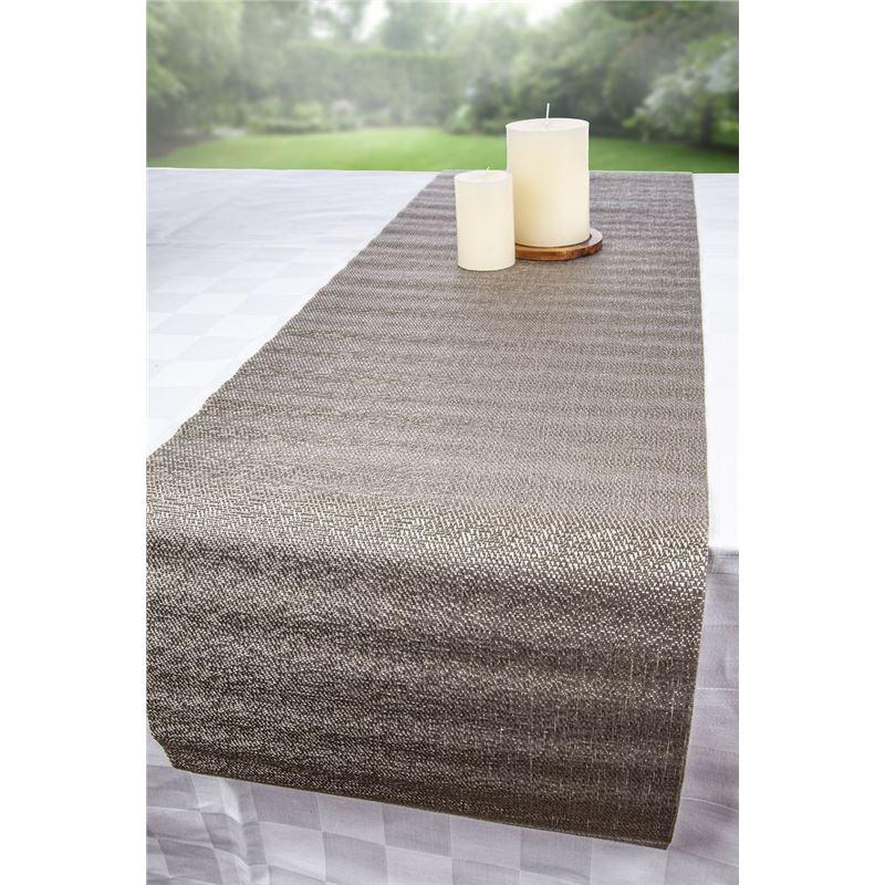 Ogilvies Designs – Tex Table Runner 30x120cm Mink