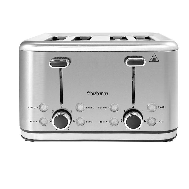 Brabantia – Electric 4 Slice Toaster