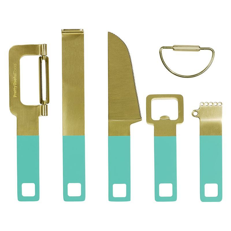 Pretty Useful Tools – Cocktail Tool Set Tropical Topaz