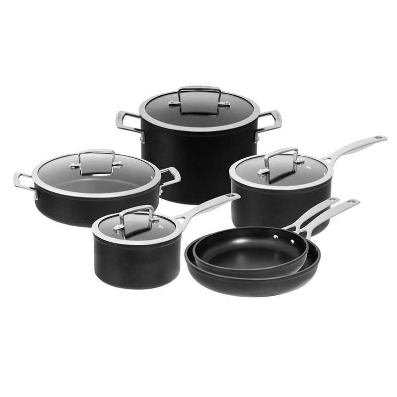 Pyrolux – Ignite Hard Anodised Non-Stick Induction 6pc Cookware Set