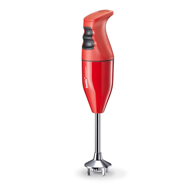 Bamix – Classic Immersion Blender 140W Red (Made in Switzerland)