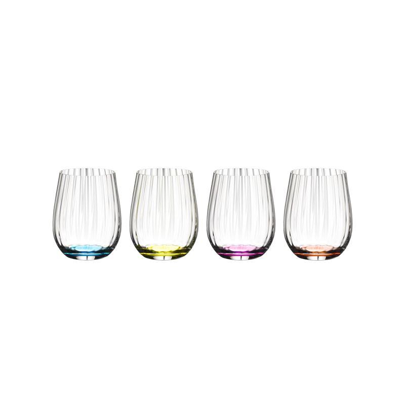 Riedel – 'O Series' Happy O Optic Wine Tumbler 344ml Set of 4(Made in Germany)