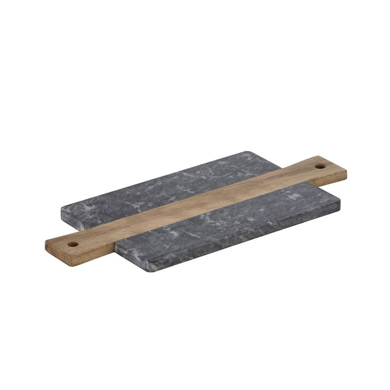 Davis & Waddell – Coleman Acacia and Marble Rectangular Board 37x16x1.5cm