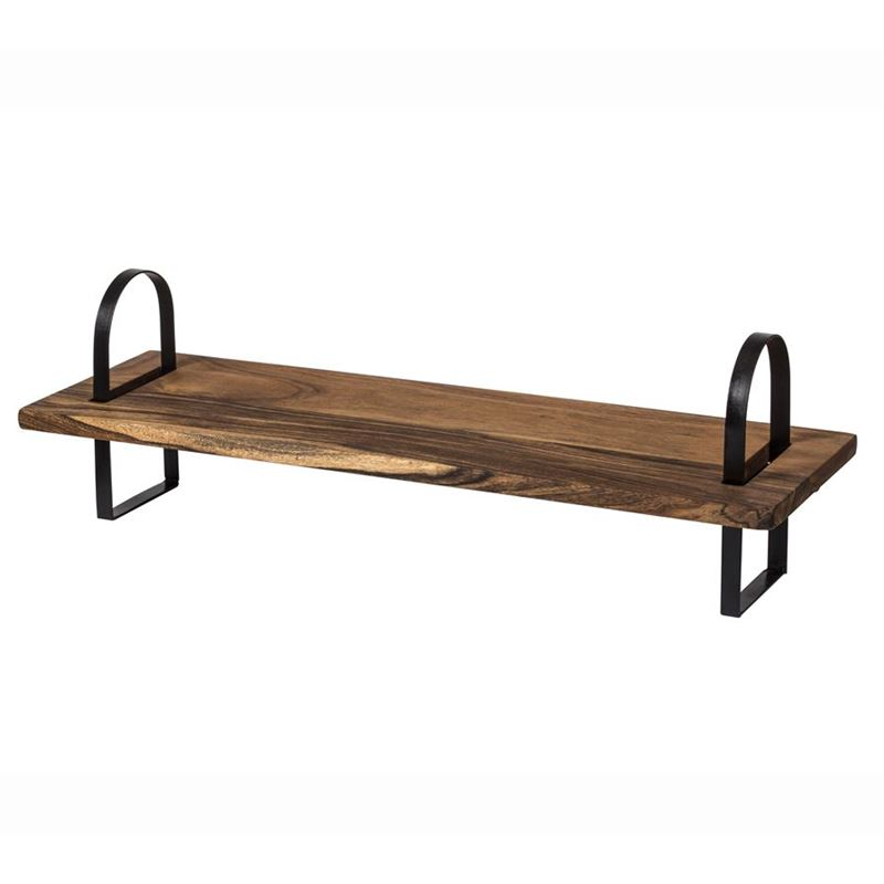Davis & Waddell – Fine Foods Collapsible Rectangular Board with Iron Legs 80x25x2cm