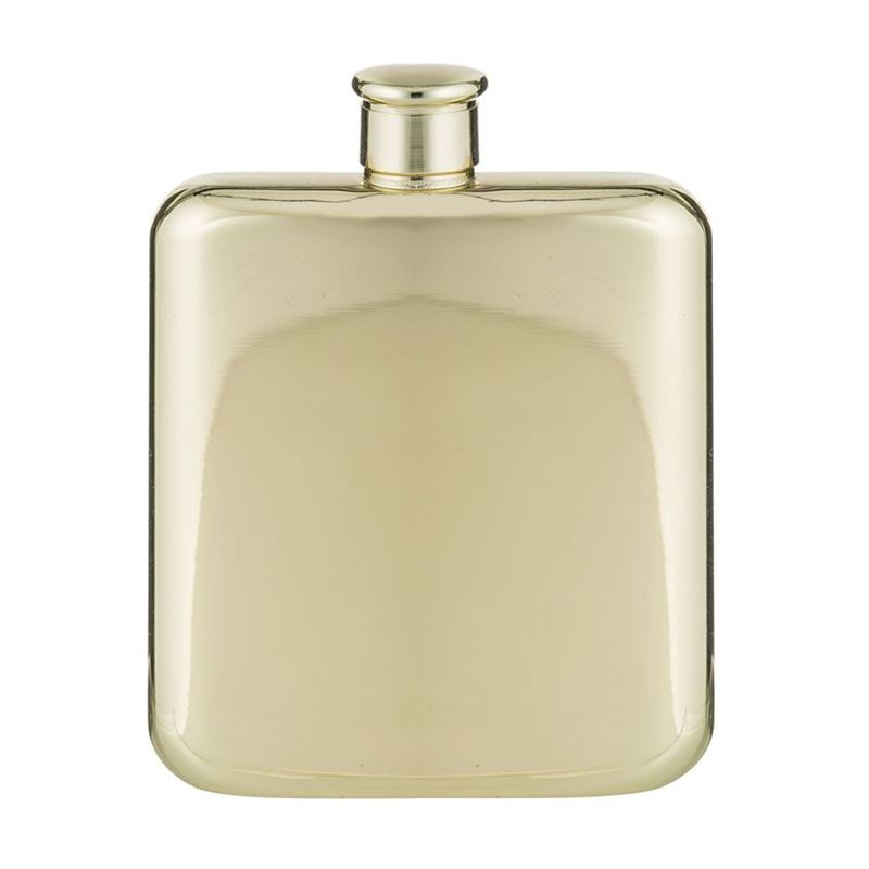 Davis & Waddell – Fine Foods Raymond Gold Hip Flask 170ml