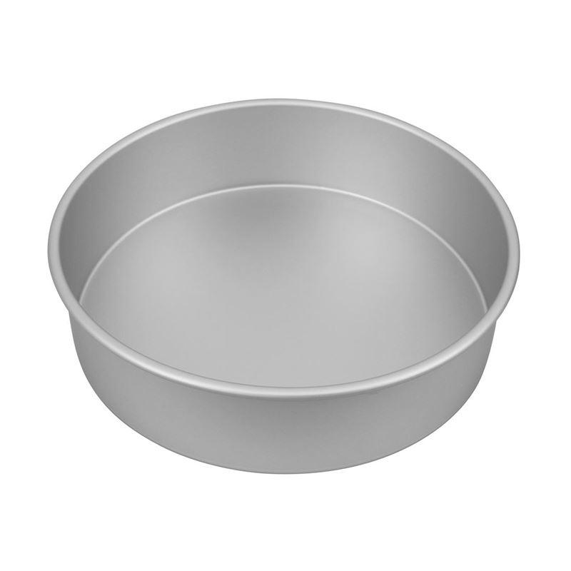 Bakemaster – Silver Anodised Round Cake Pan 27.5×7.5cm