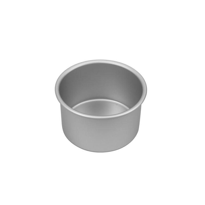 Bakemaster – Silver Anodised Deep Round Cake Pan 15x10cm