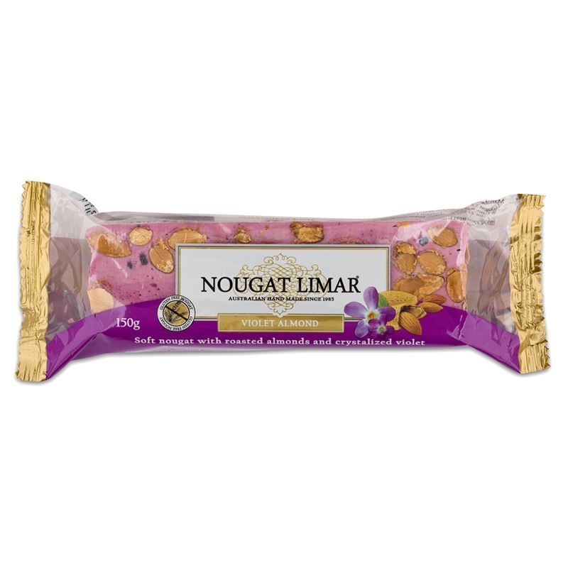 Nougat Limar – Violet Almond Nougat Half Log 150g(Made in Australia)