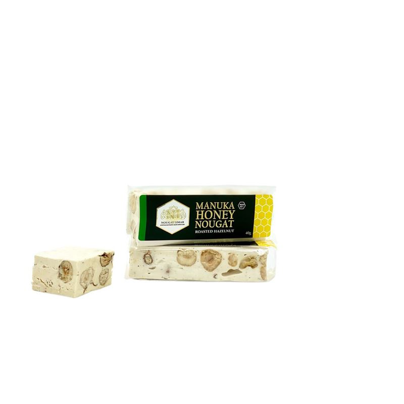Nougat Limar – Manuka Honey Hazelnut 40g Bar(Made in Australia)