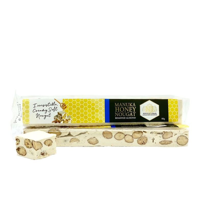 Nougat Limar – Manuka Honey Almond 90g Bar(Made in Australia)