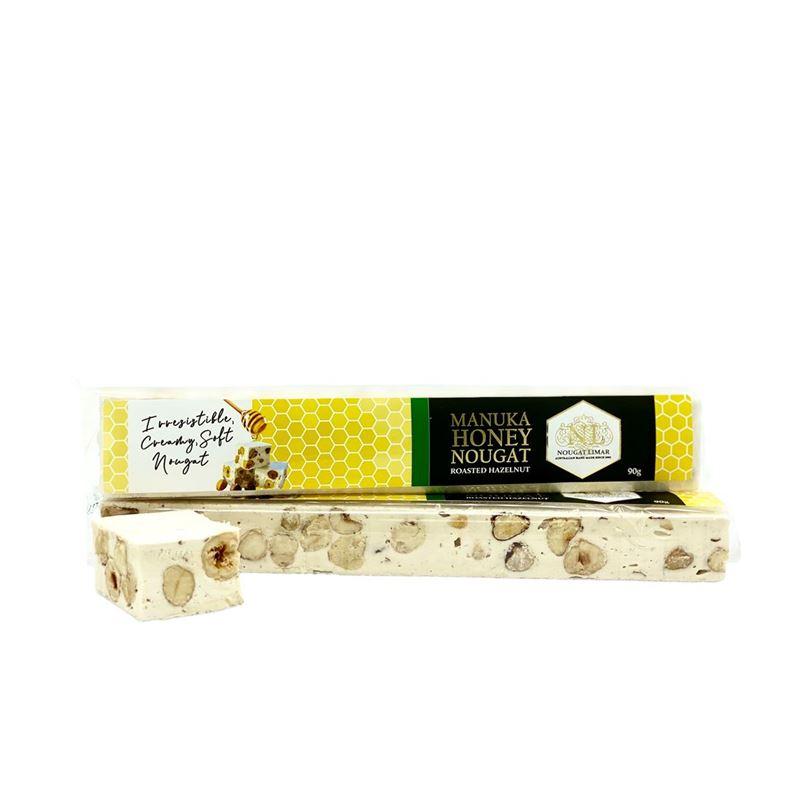 Nougat Limar – Manuka Honey Hazelnut 90g Bar(Made in Australia)