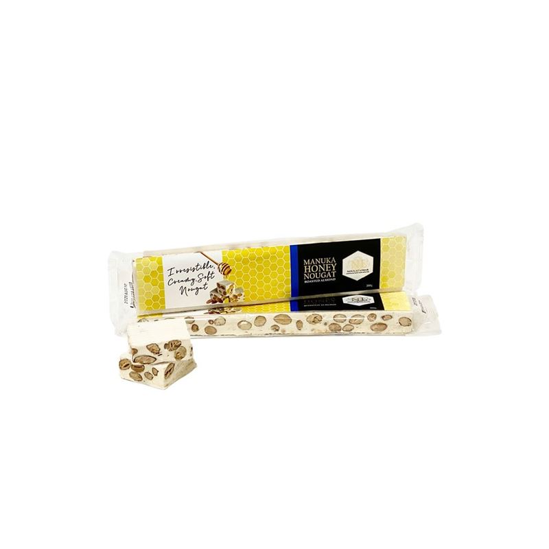 Nougat Limar – Manuka Honey Nougat Roasted Almond 200g Bar(Made in Australia)
