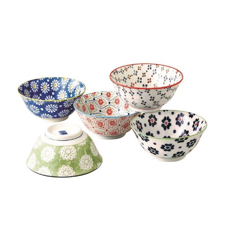 Goshiki by Noritake – Japanese Ceramics 11.5cm Bowl Set of 5 (Made in Japan)