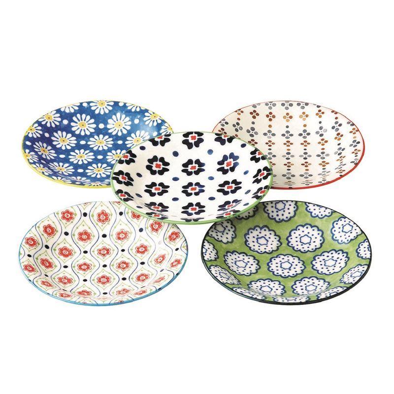 Goshiki by Noritake – Japanese Ceramics 16.5cm Plate Set of 5 (Made in Japan)