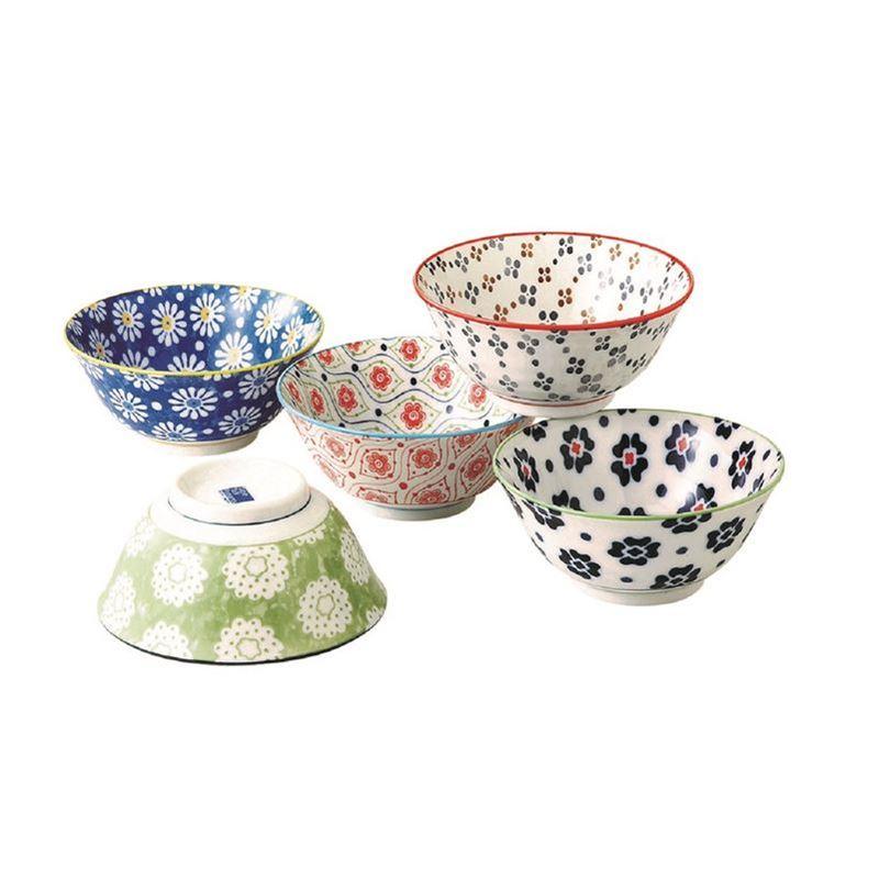 Goshiki by Noritake – Japanese Ceramics 15cm Bowl Set of 5 (Made in Japan)