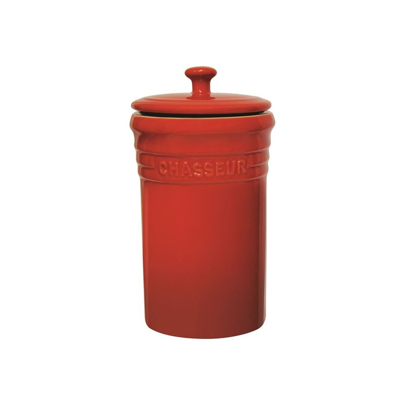 Chasseur – La Cuisson Storage Jar 1.1Ltr Red