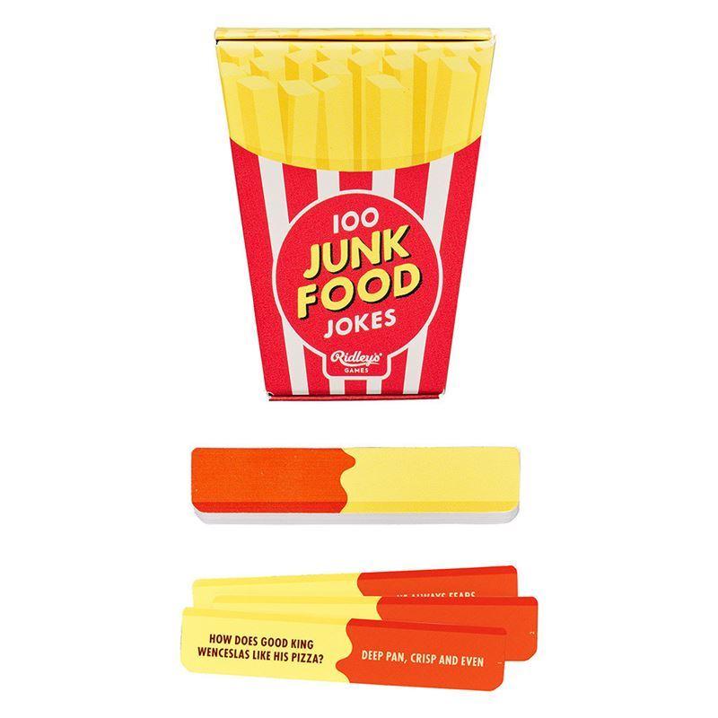 Ridley's Games – 100 Junk Food Jokes