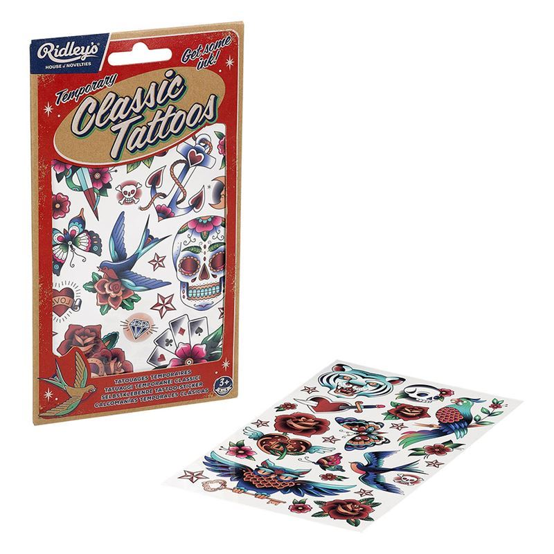 Ridley's Games – Temporary Classic Tattoos