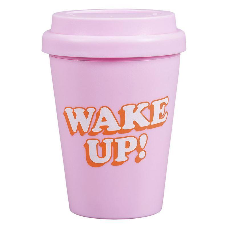 Yes Studio – Travel Mug Plastic 300ml Wake Up