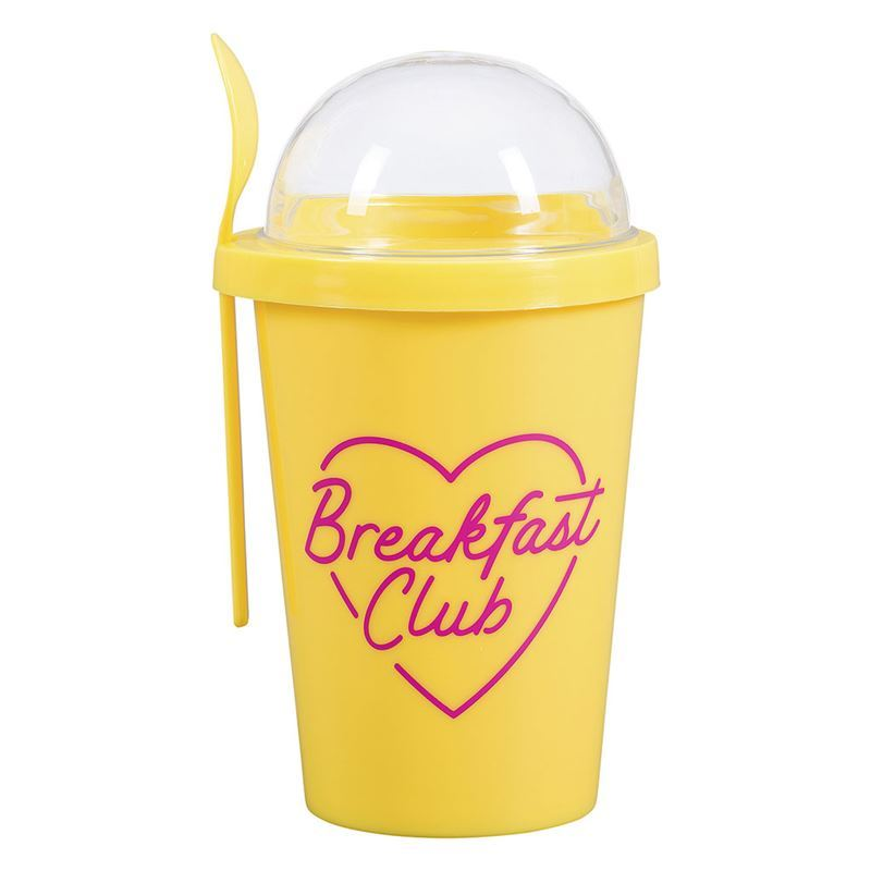 Yes Studio – Breakfast Cup with Snack Dome and Spoon
