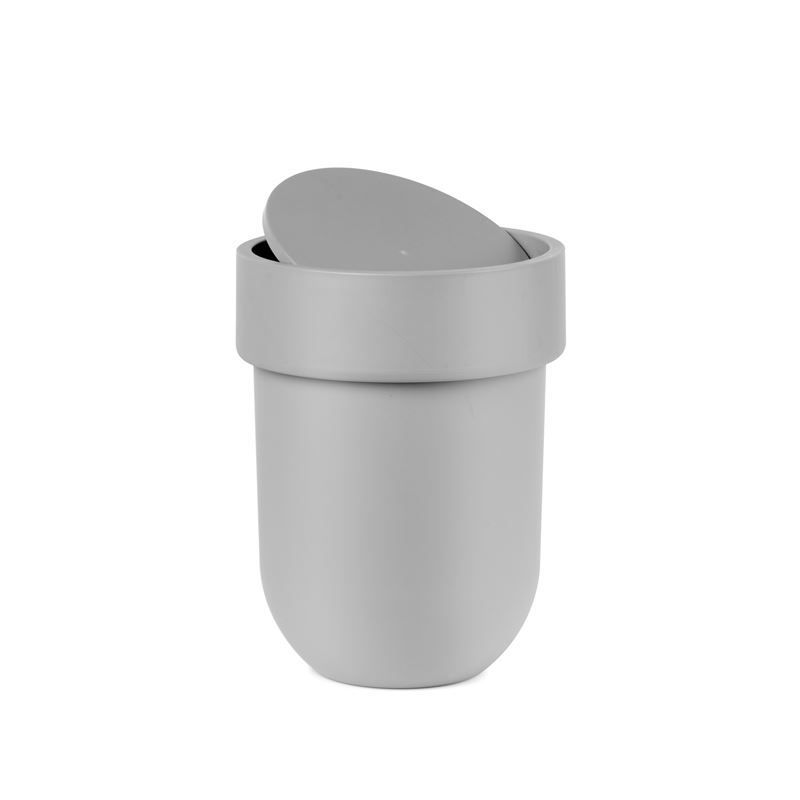 Umbra – Touch Waste Bin with Lid Grey