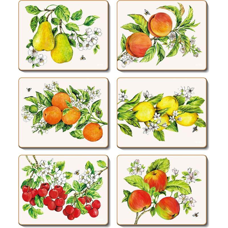 Cinnamon – Botanical Fruit Coaster 11×9.5cm Set of 6