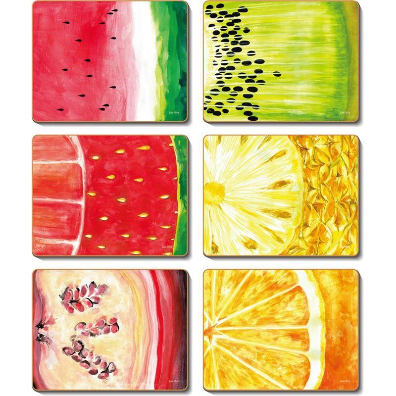 Cinnamon – Fruit Slice Coaster 11×9.5cm Set of 6
