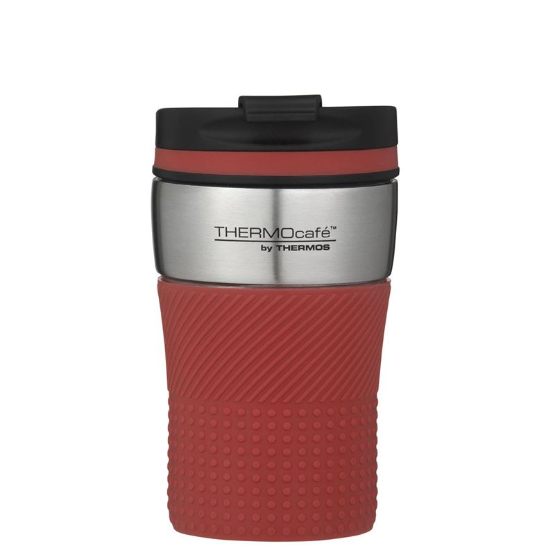 THERMOcafe™ by Thermos – Stainless Steel Vacuum Insulated Coffee Cup 200ml Dark Red