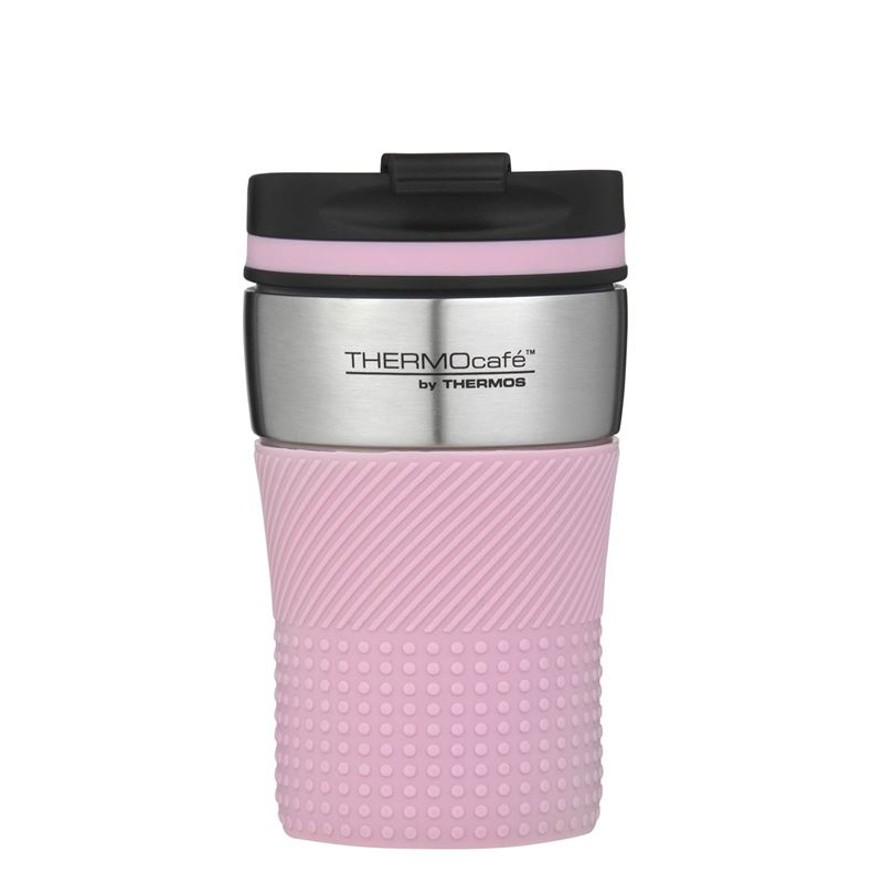 THERMOcafe™ by Thermos – Stainless Steel Vacuum Insulated Coffee Cup 200ml Pink