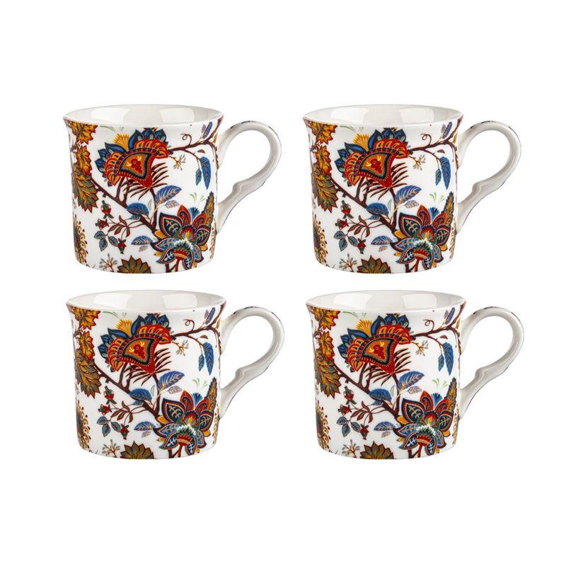 Heritage – Fine Bone China Princess Mug 360ml Set of 4 Bimini