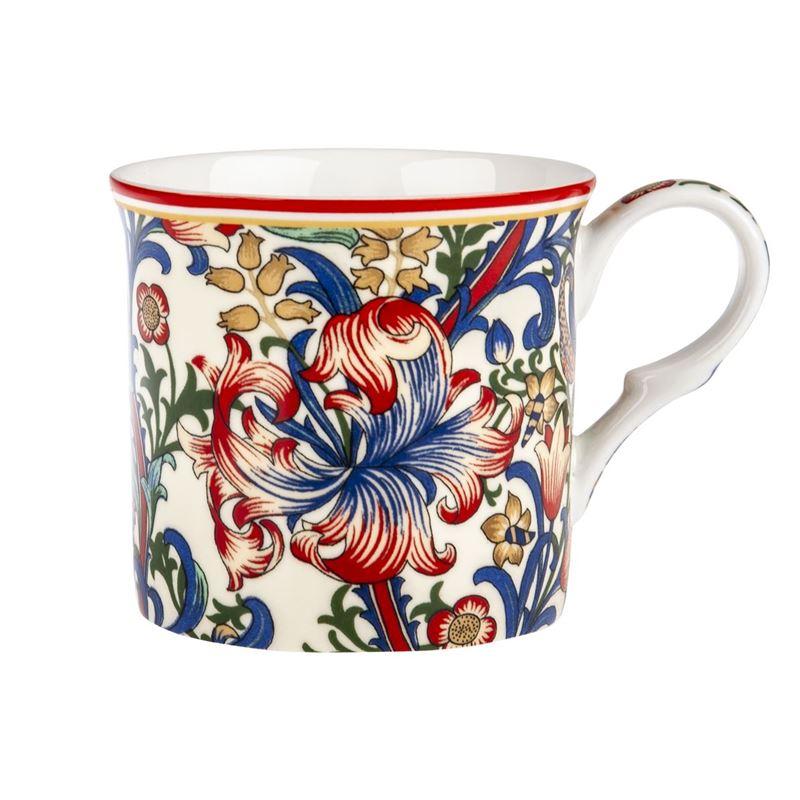 Heritage – Fine Bone China Palace Mug 200ml Morris Lily