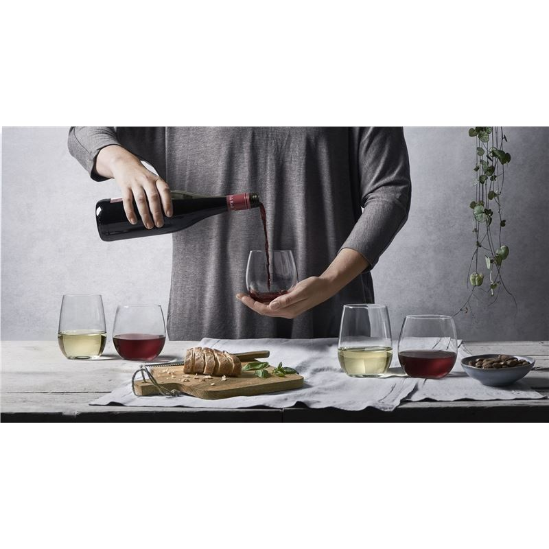 Royal Leerdam – Suave Stemless Wine Glasses Set of 12 (Made in Portugal)