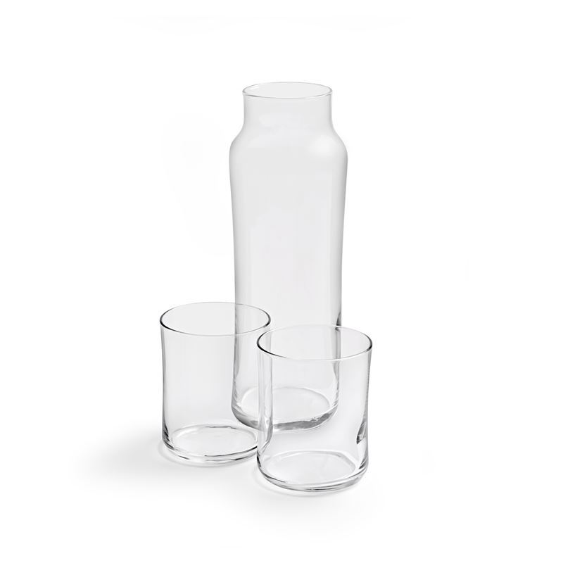 Royal Leerdam – Slim & Cool 350ml DOF Pair with 1Ltr Glass Bottle (Made in Portugal)