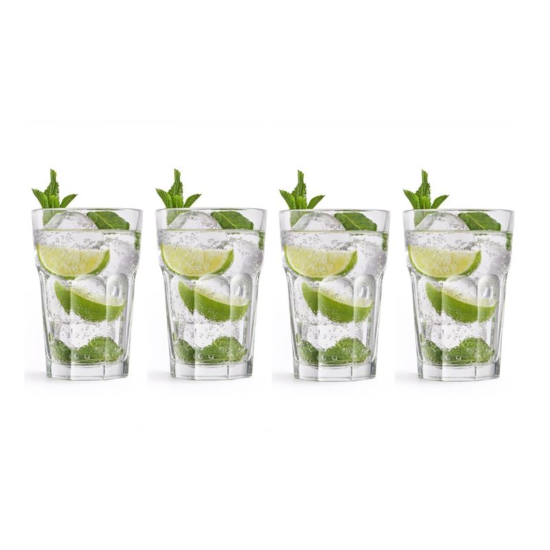 Royal Leerdam – Mojito 410ml Cocktail Glasses Set of 4 (Made in Portugal)