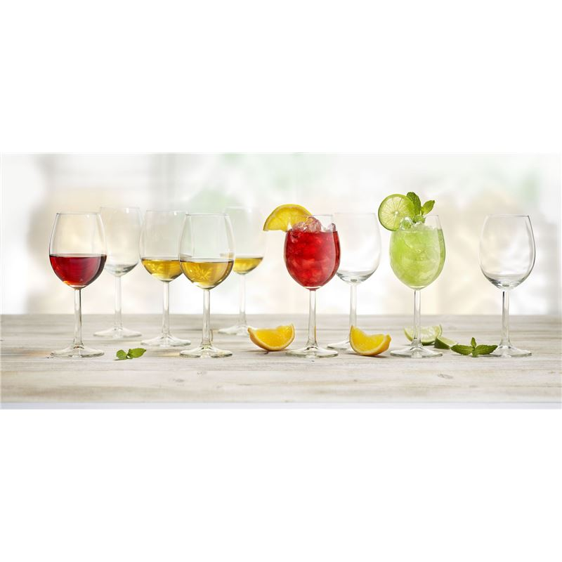 Royal Leerdam – Time to Party Wine 320ml Glasses Set of 18 (Made in The Netherlands)