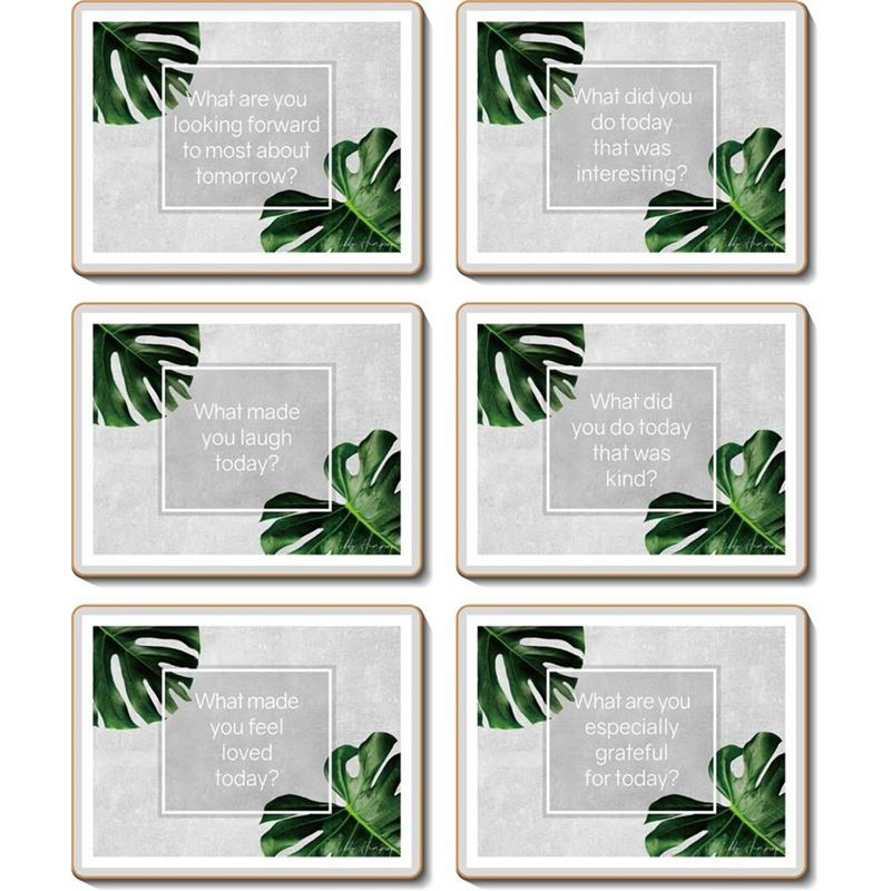 Cinnamon – Mindful Coaster 11×9.5cm Set of 6
