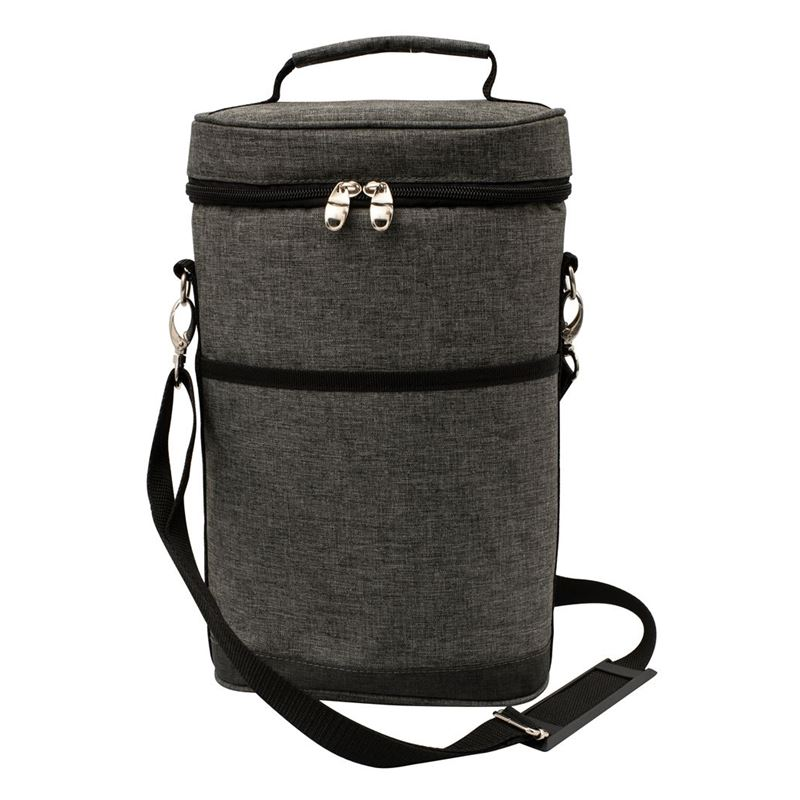 Karlstert – Deluxe 2 Bottle Insulated Carrier Charcoal