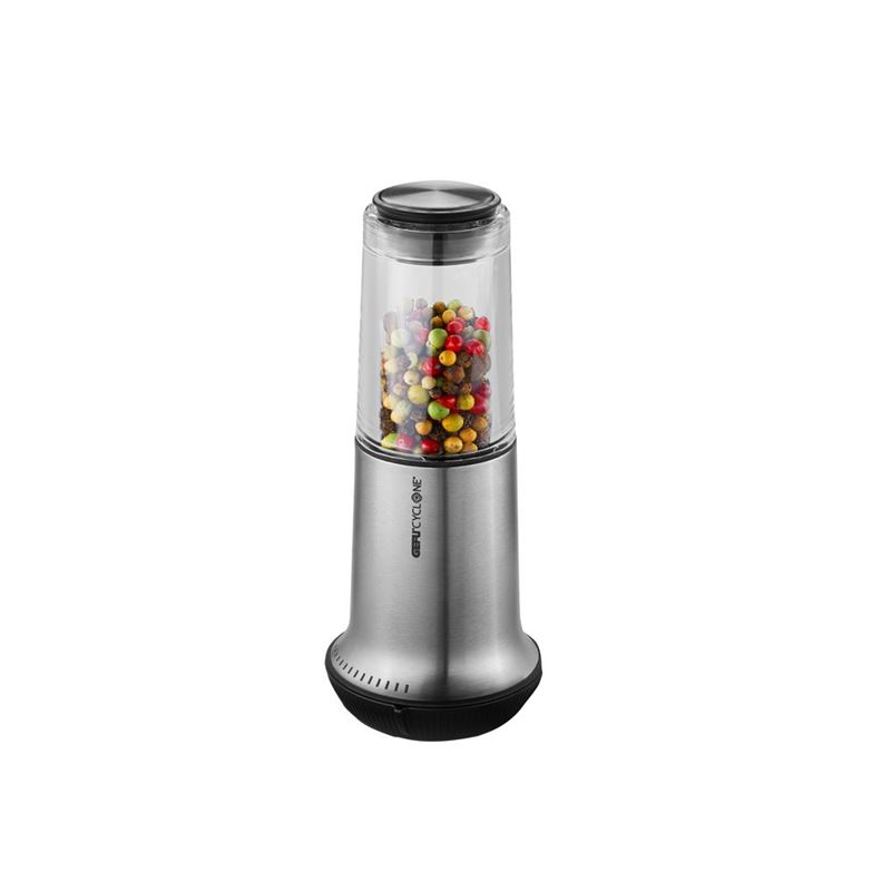 Gefu – X-PLOSION Salt or Pepper Mill Medium 15cm Steel