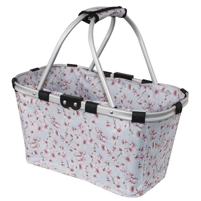 Karlstert – Two Handled Foldable Carry Basket Blossoms