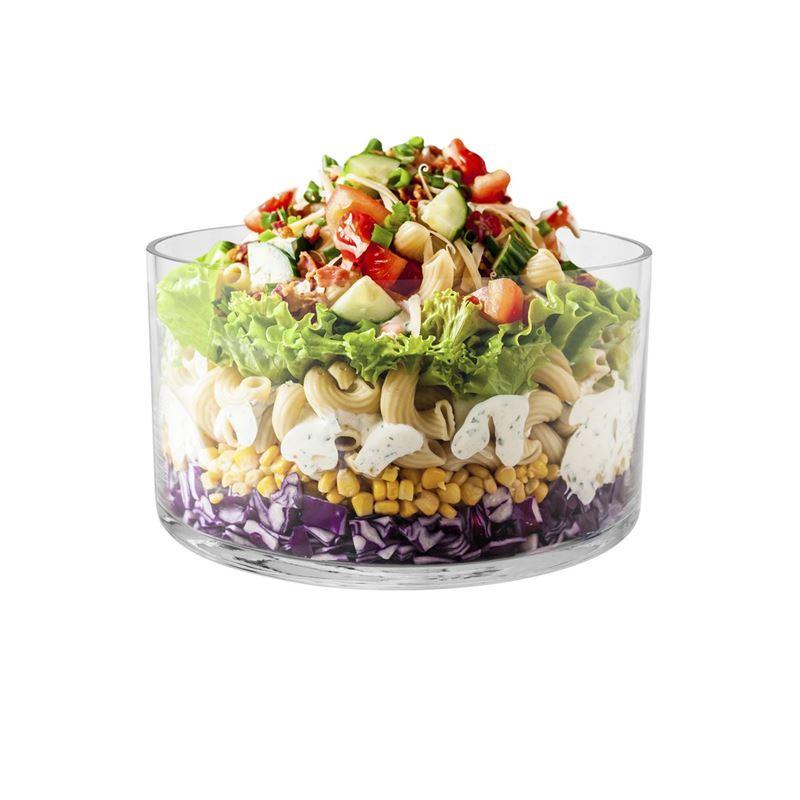 Wilkie Brothers – Glass Salad Bowl 22x12cm