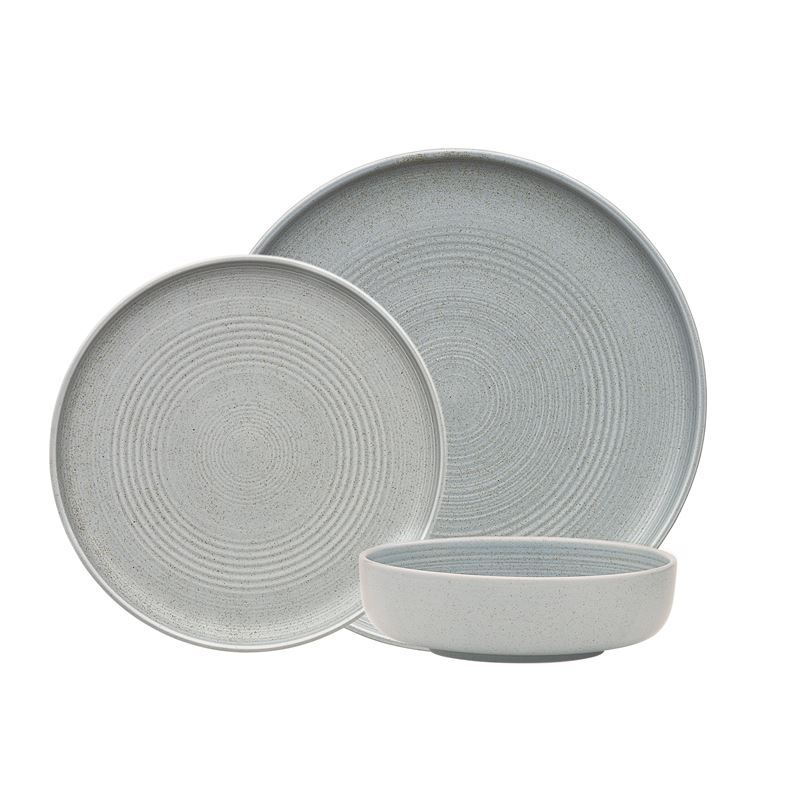Ecology – Siena Denim Durable Porcelain 12pc Dinner Set